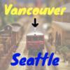 [Amtrak] バンクーバー → シアトル / 鉄道で国境越え!